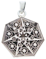 Seven Pointed Egyptian Star