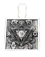 Metatron´s cube with powerful symbols