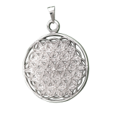 Flower of life with the 72 sacred names of God